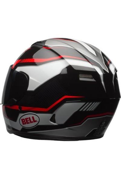 Bell Qualifier Torque Kapalı Kask (Kırmızı/Siyah)