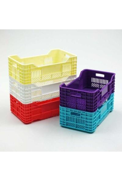 Arsevi Mini Plastik Kasa Sepet 4'Lü