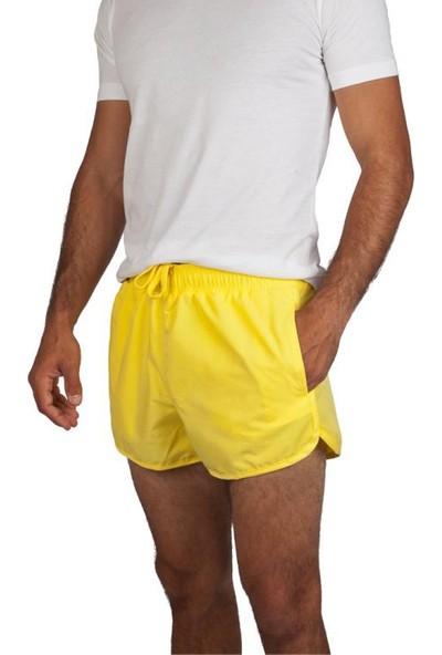 Exuma 381508 Erkek Deniz Şortu Sarı