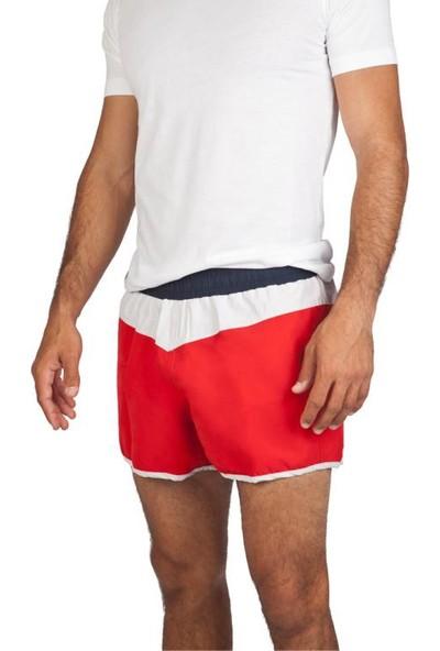 Exuma 381507 Erkek Deniz Şortu Kırmızı