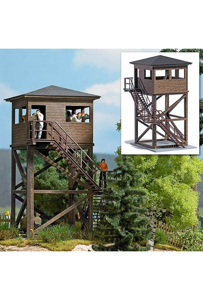 Gözetleme Kulesi Maketi 1/87 Ho N:1585