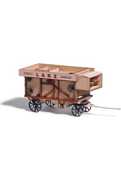 Busch Model Araba Maket Vagon 1/87 N:59902 Lanz Dreschmaschine