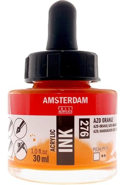 Talens Amsterdam Akrilik Mürekkebi 30Ml - N:276 Azo Orange