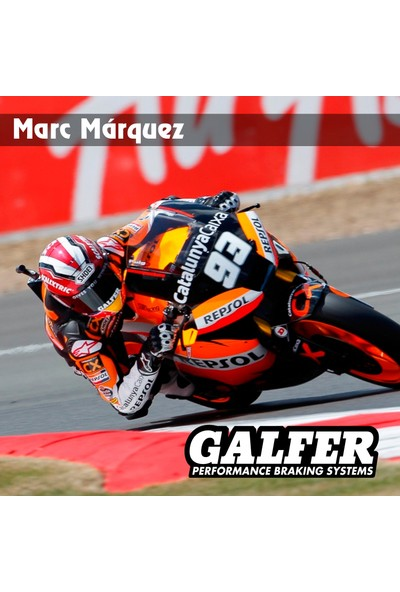 Galfer FD245G1050 (SFAC324) Scooter Yarı Metalik Motosiklet Fren Balatası