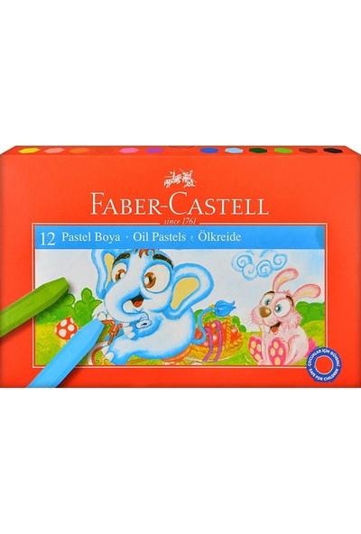 Faber Castell Pastel Boya Seti Kırmızı 12'Li