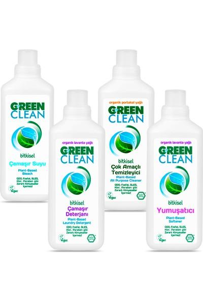 U Green Çamaşır Yıkama Seti 4 Parça