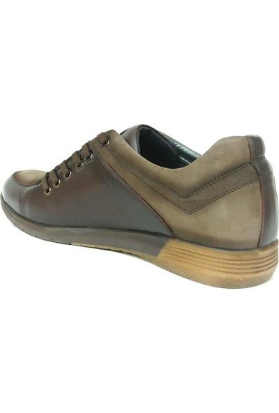 Dropland 3330 Kahve Camel Bağcıklı Casual Erkek Ayakkabı