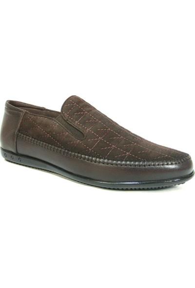 Dropland 3479 Kahve Bağcıksız Casual Erkek Ayakkabı