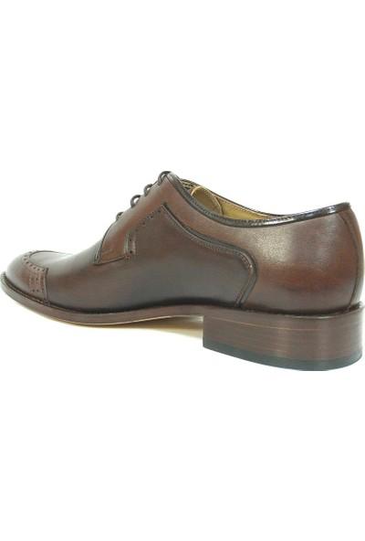 Ekici 3846 Kahverengi Bağcıklı Kösele Erkek Ayakkabı