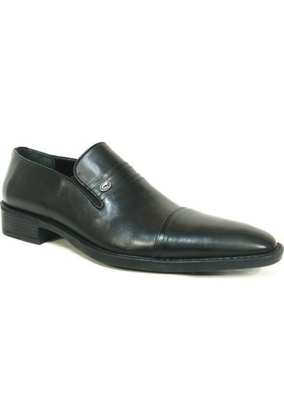 Ekici 6508 Siyah Bağcıksız Erkek Ayakkabı
