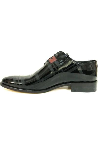 Ekici 7875 Siyah Bağcıklı Erkek Ayakkabı