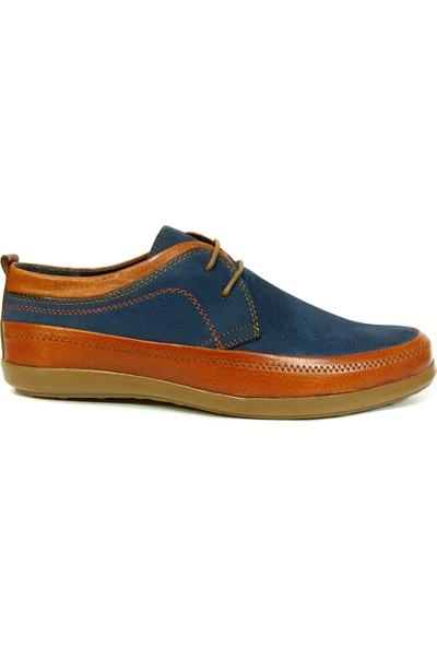 Marco Pierre 5361 Lacivert Taba Bağcıklı Casual Erkek Ayakkabı