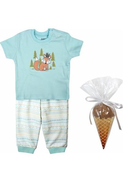 Baby Corner Aztek 3'lü Pijama Set