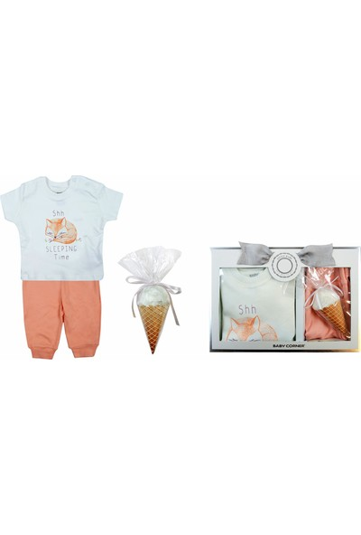 Baby Corner Flower Love 3'lü Pijama Set