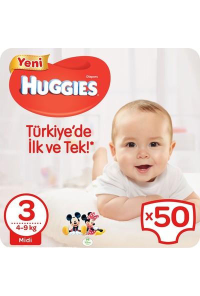 Huggies Bebek Bezi Jumbo Midi 3 Beden 50 Adet