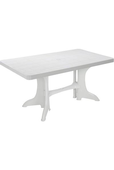Şenyayla Diktörtgen Masa 90x150 cm 2585 Beyaz