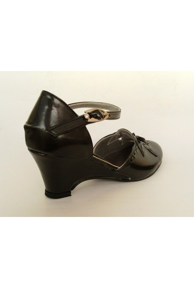 Byr Shoes Siyah Bayan Klasik Ayakkabı