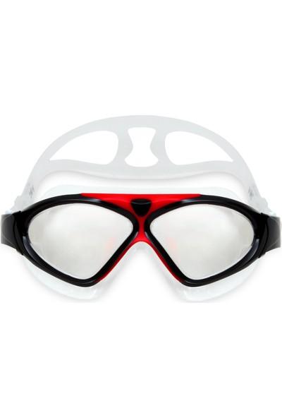 Ravel 8170 Yetişkin Geniş Açı Silikon Havuz Deniz Yüzücü Gözlüğü
