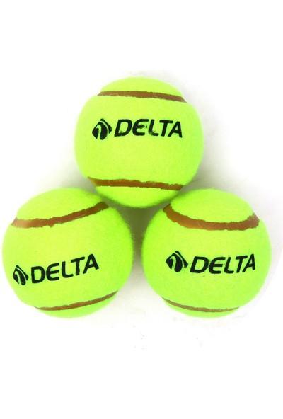 Delta 3 Adet Sarı Tenis Topu