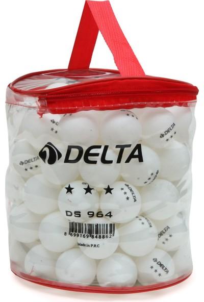 Delta 100'lü Çantalı Masa Tenisi Topu (Pinpon Topu)