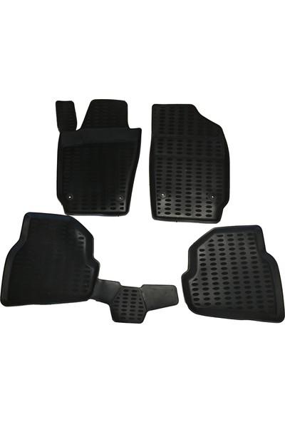 Dacia Sandero Araç İçi Paspas Takımı 2008-2012 Arası Kokusuz Kauçuk 3D Korumalı