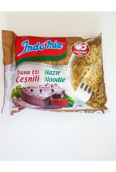 İndomie Hazır Noodle Dana Eti Çeşnili