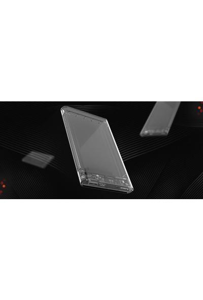 OricoUSB 3.0 to SATA 2.5'' Şeffaf (Transparan) Harici Harddisk Kutusu 2139U3-PRO-CR