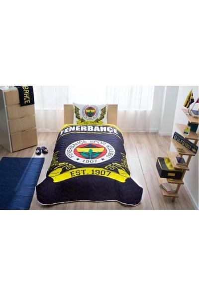 Taç Lisanslı FB Logo Yatak Örtüsü Seti
