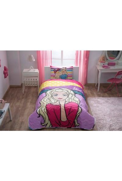 Taç Lisanslı Barbie Dream Yatak Örtüsü Seti
