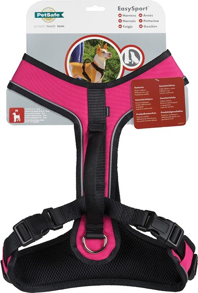 Easy Sport™ Harness -Pembe Köpek Tasması - Extra Small ( 38 - 56 cm)