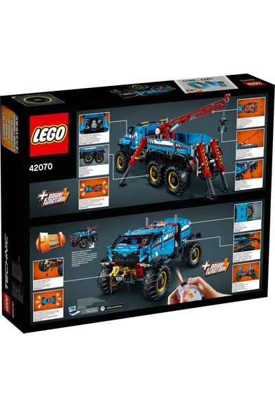 LEGO Technic 42070 6 x 6 Çekici Arazi Kamyonu