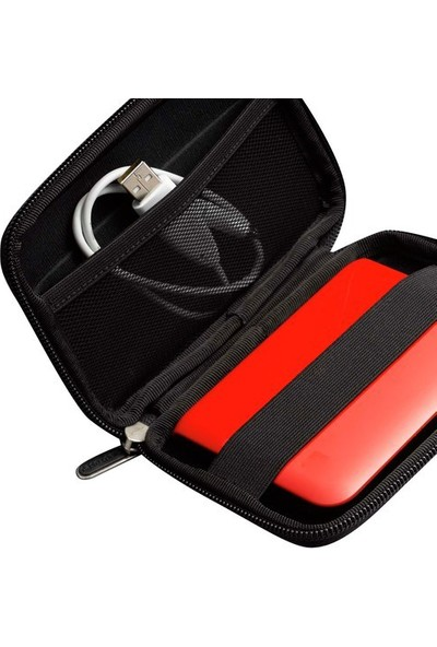 "Case Logic CA.QHDC101K 2,5"" Sert Yüzey Siyah Hard Disk Kılıfı"
