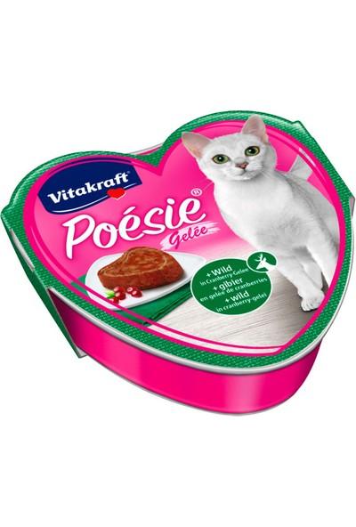 Vitakraft Poésie® Av Etli & Kızılcık Meyveli Pate 85 Gr