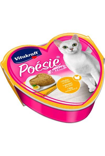 Vitakraft Poésie® Tavuk & Yumurta soslu 85 gr