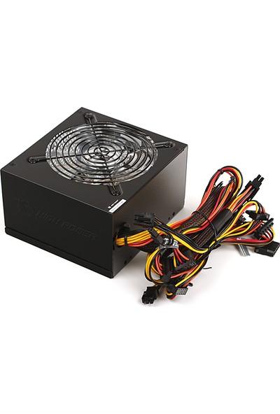 High Power 700W 80+ Kırmızı Led Fanlı Güç Kaynağı (HPG-700ST-T12S)