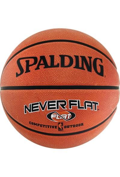 Spalding Basketbol Topu Never Flat Outdoor N:7 (63-803Z)