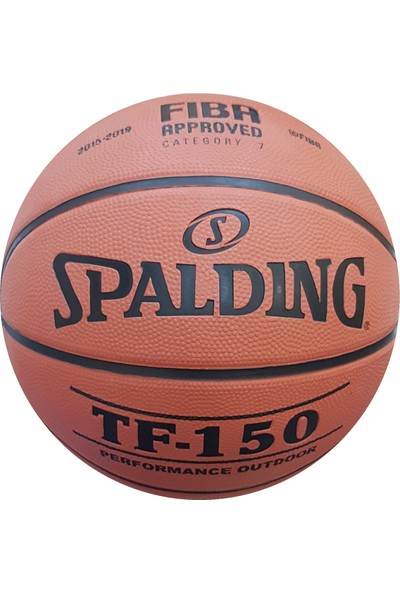 Spalding TF-150 Basketbol Topu Perform Size 6 Fiba Logolu (83-600Z)