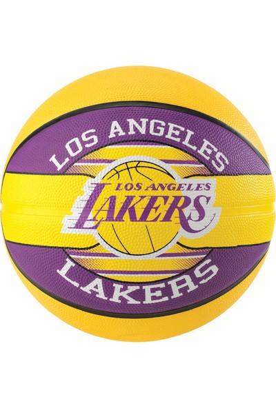 Spalding Basketbol Topu NBA Team Lakers 2017 N:7 Rbr (83-510Z)