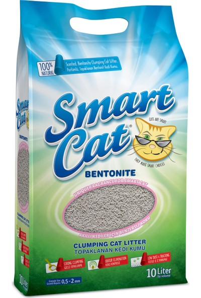Smart Cat Naturel Bentonit Kedi Kumu 10lt