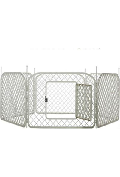 Strong Plastik Köpek Oyun Bahçesi Çiti 6 Panel 90X60cm