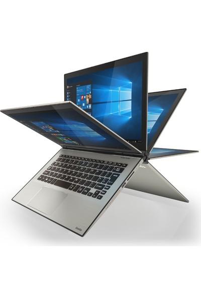 "Toshiba Satellite Radius 12 P20W-C-10C Intel Core i7 6500U 8GB 256GB SSD Windows 10 Home 12.5"" UHD Taşınabilir Bilgisayar"