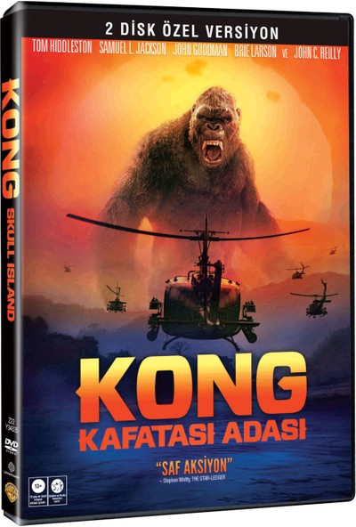 Kong: Kafatası Adası 2 Disk Özel Versiyon Dvd