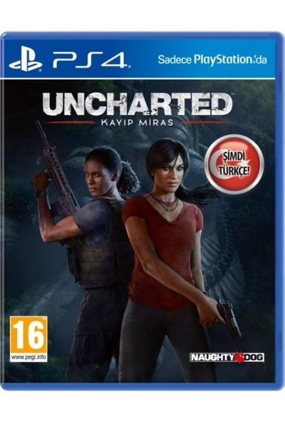 Uncharted Kayıp Miras (Türkçe dublaj) PS4 Oyun