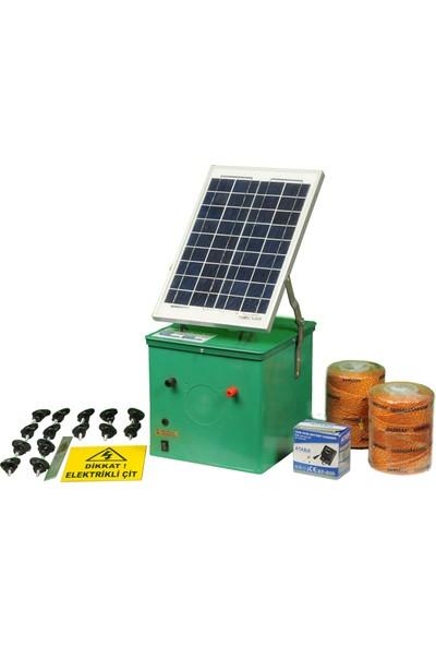Agriprof Elektrikli Çit Makinası (Güneş Enerjili Jumbo Paket)