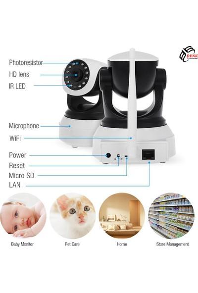 Paletech Do-Ip10Hd Hareketli Kablosuz Gece Görüşlü Güvenlik Ve Bebek Kamerası