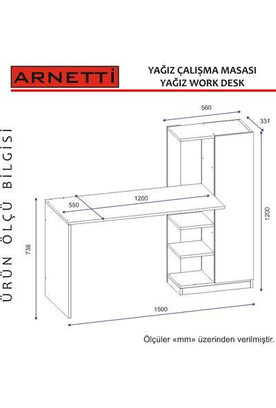 Arnetti Yağız Çalışma Masası