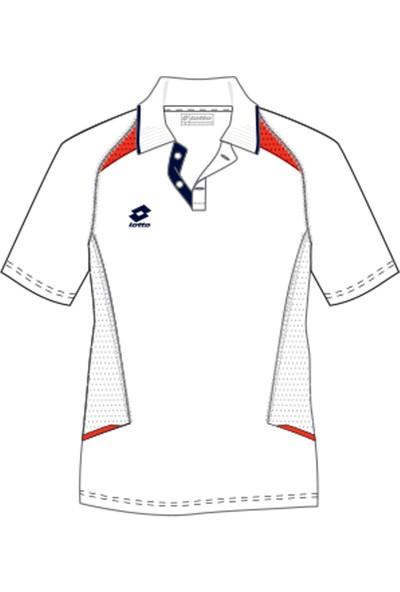 Lotto Polo Owex Camp Pl Beyaz Erkek T-Shirt N4378