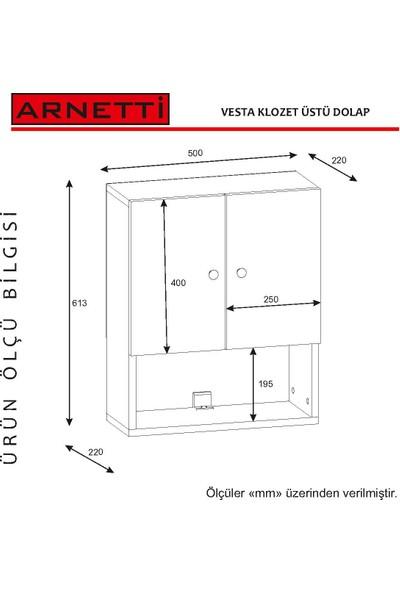Arnetti Pool Banyo Dolabı Ve Askılık