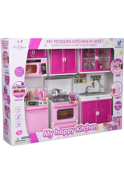 My Happy Modern Lavabolu Mutfak Seti