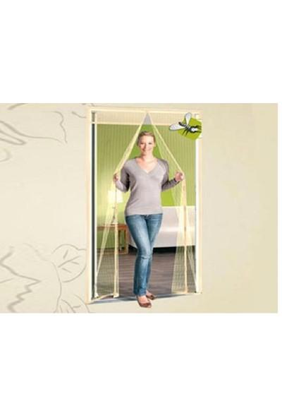 Mindcraft Kapı Sinekliği Pencere Sineklik Kovucu Tülü Perde Krem